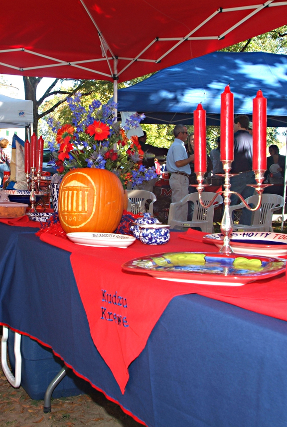 Ole Miss Tailgating in the Grove
