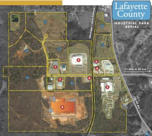Aerial View – Lafayette County Industrial Park