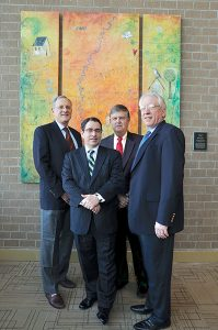 Founders of FNC: Bob Dorsey, John Johnson, Dennis Tosh, Bill Rayburn